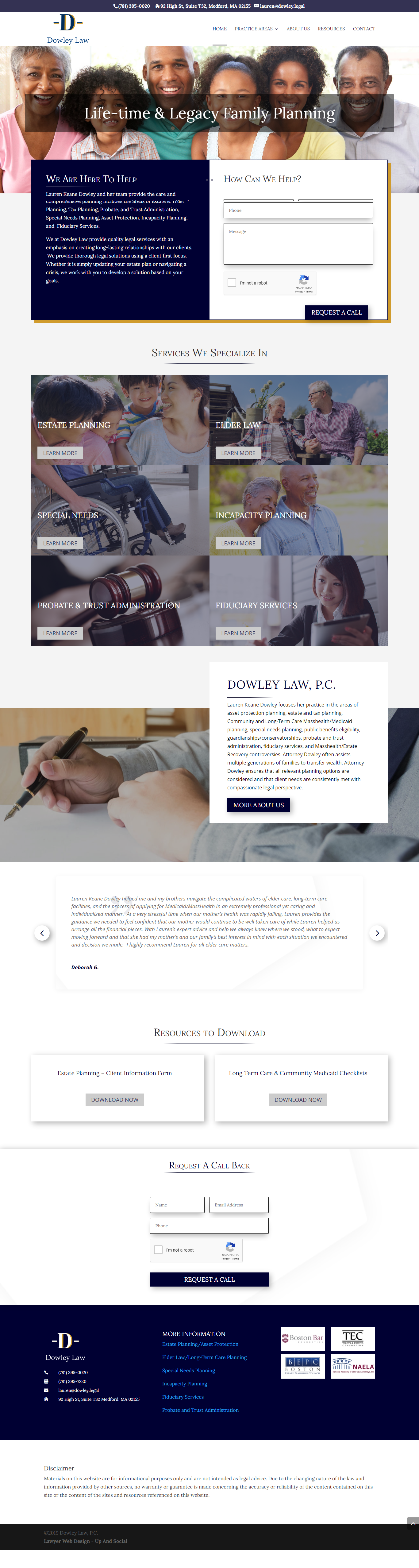 Law Firm Website Design Inspiration